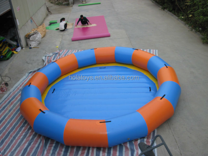 Hola round inflatable pool/deep inflatable pool for sale/inflatable pool