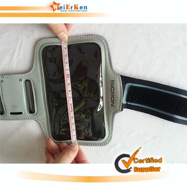 2014 promotional hot selling mobile phone arm bag