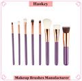2017 Hot product high quality 8pcs professional foundation makeup brush set