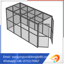 heavy duty warehouse trolley storage cage