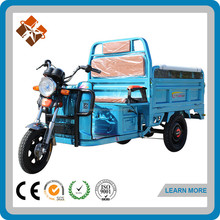 Classic motorised tuk tuk tipper cargo tricycle