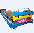 High efficiency trapezoidal metal roof tile making machine