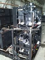 Siemens PLC controlled 500m3-h cng for filling station 210CFM 580PSI 90HP 2014 CHINAPLAS