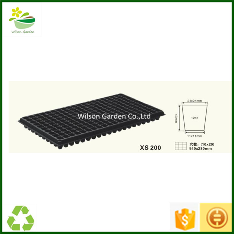 Plastic seed planting trays nursery seedling trays supplier