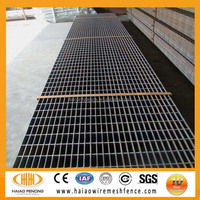 (ISO9001) hot dip galvanized high quality standard size heavy duty platform fashion steel grating(Factory)