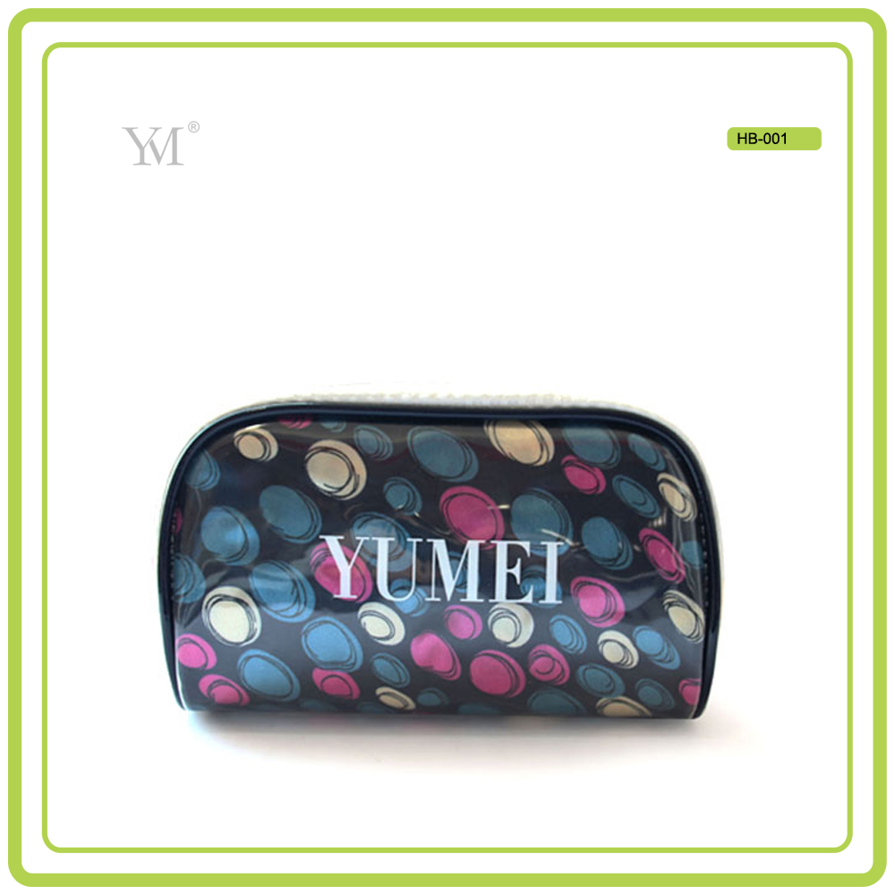 new products 2016 hot selling eco friendly low price unique promotional gift women EVA satin cosmetic bag fashion cosmetic bag