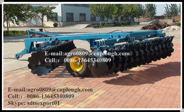 Professinal factory supply disc harrow tractor heavy-duty hydraulic disc harrow