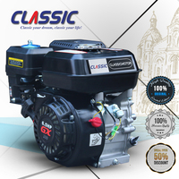 Classic China Gasoline Engine GX160 GX200 GX210, 110CC 4 Stroke Engine, Air Cooled Small Petrol Engine