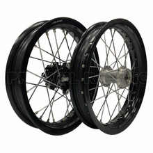 Pit Bike alloy motorcycle complete wheel for KLX 110