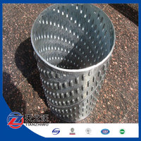 water well welded type bridge slotted screen pipe