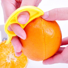 Plastic Easy Open Orange Peeler Lemon Fruit Slicer Fruit Stripper Opener Household Fruit & Vegetable Peelers