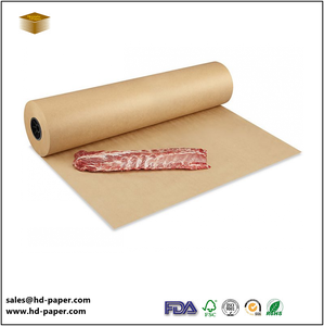 Unbleached Brown PE Laminated Food Wrapping Kraft Paper
