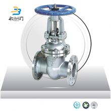 pn16 wcb rubber seat ring spindle gate valve