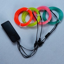 2.3MM Neon Light Glow Chasing Electroluminescent EL Wire