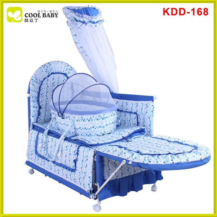 EN1888 high quality frame china baby crib wheels