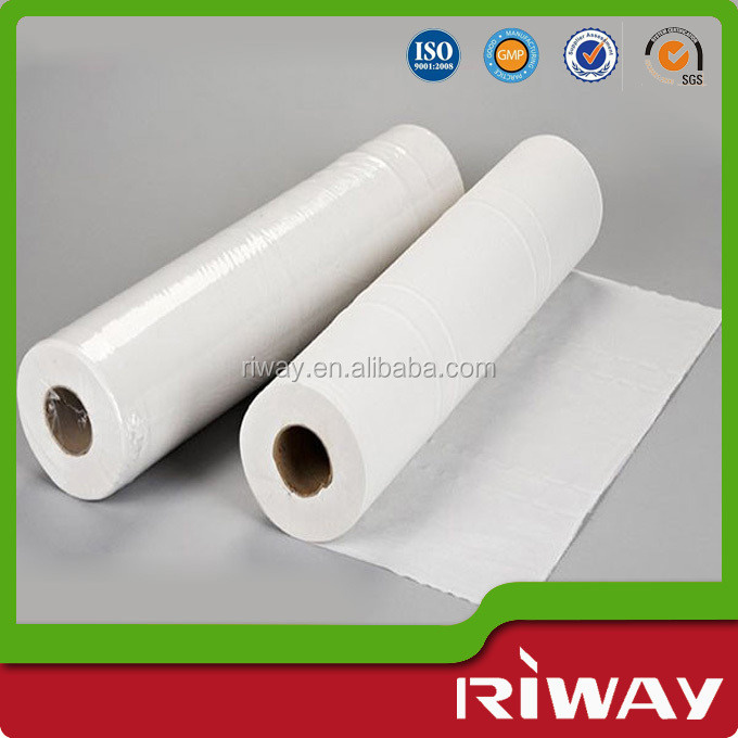 Best price hospital white disposable bed sheet roll, disposable bed sheets in roll