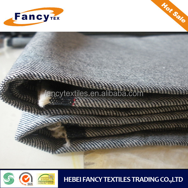 13.5oz indigo color heavy denim fabric for jeans garment