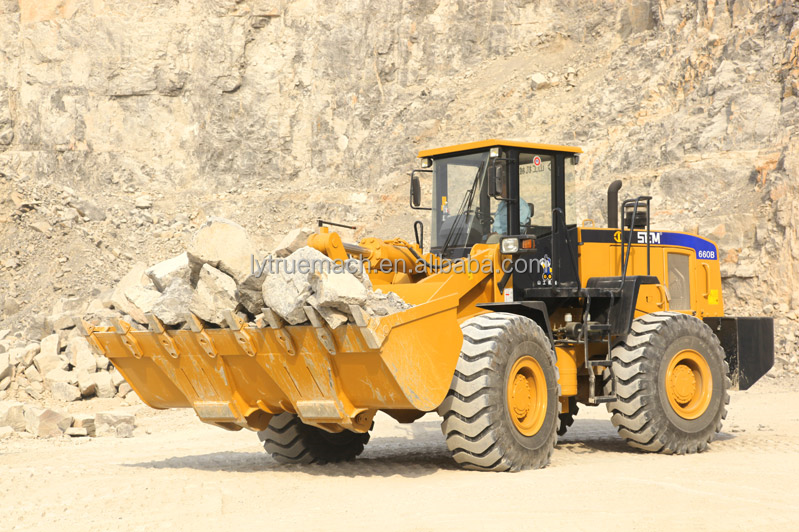 SEM Brand SEM660B Wheel Loader With 3.3-5.5m3 Bucket