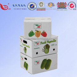 China factory durable fruit &vegetable packaging boxes