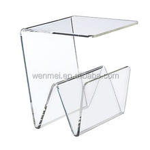 BEST-SELLER customized acrylic cosmetic display rack stand , Acrylic Tea Table
