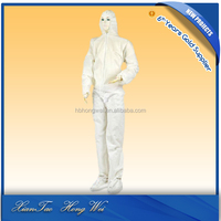 disposable cheap blue reflective safety coverall