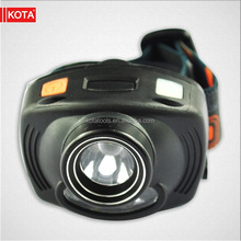 212 lumen 3 AAA Battery camping LED headlamp