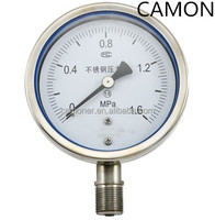 Stainless Steel Corrosion-proof & Vibration-proof Pressure Gauge