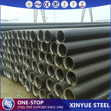 API 5L X65 PSL1 Schedule 60 ERW Black Steel Pipes, ASTM A53 Mild Carbon Steel Pipe