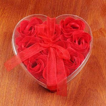Silk Cotton Bondage Rope Soft Touch Tie Up Fun Bath Body Flower Heart Favor Soap Rose Petal Wedding Decoration Party Gift