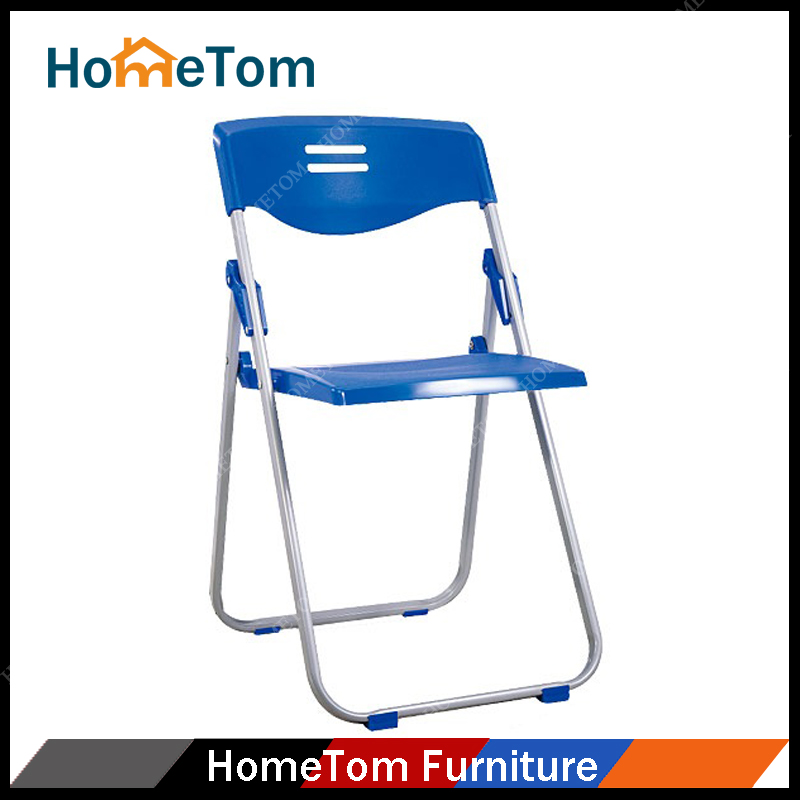 Simple Outdoor Furniture Design Metal Frame Plastic Folding Chair