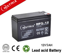 12v/9ah maintenance-free inverter ups battery