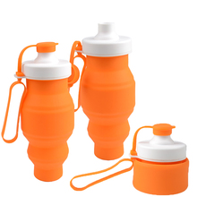 Promotional Gift Items Eco-Friendly Silicone Cute Cartoon Characters Colorful Kids/Child School Water Bottle With Filter