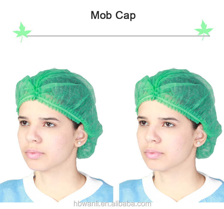 Breathable paper surgical cap,PP surgical cap,nonwoven surgical cap