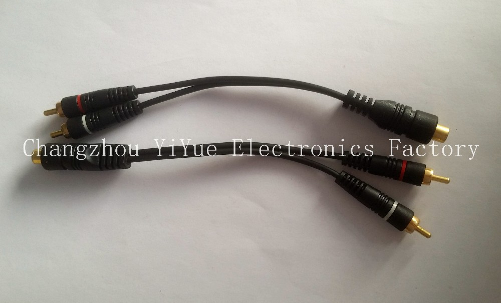 HDTV Shielded RCA Video RG6 Cable Component RGB AV CABLE