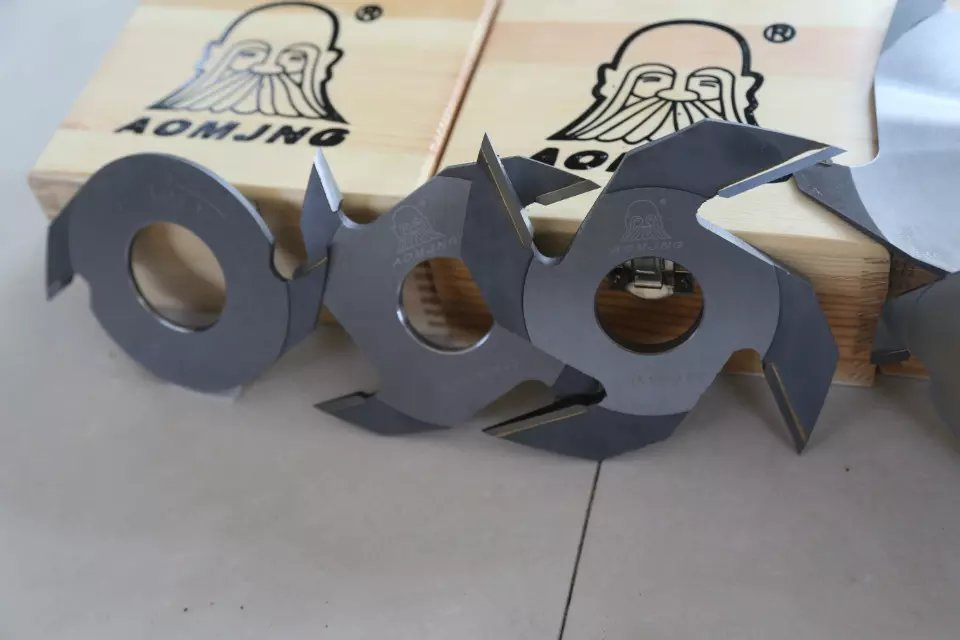 250mm dia 6 tooth finger joint cutter for high speed comb machine