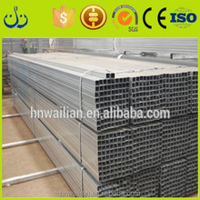 Best Price metal building materials High strength S235JR welded square steel tubing/tube galvanized square tube steel