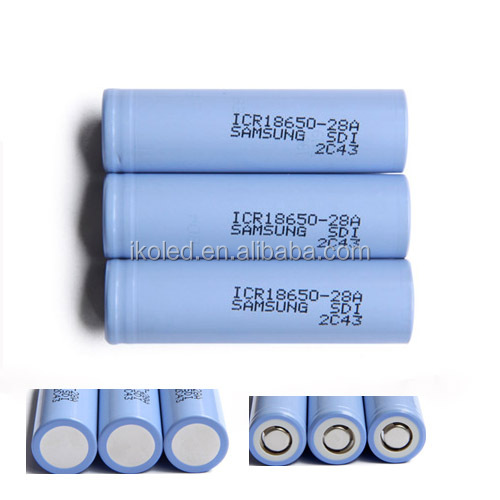 ICR 18650-28A 3.7v 18650 2800mah li-ion rechargeable battery cell