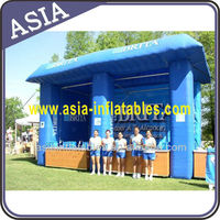 Inflatable booth/kiosks for trade shows