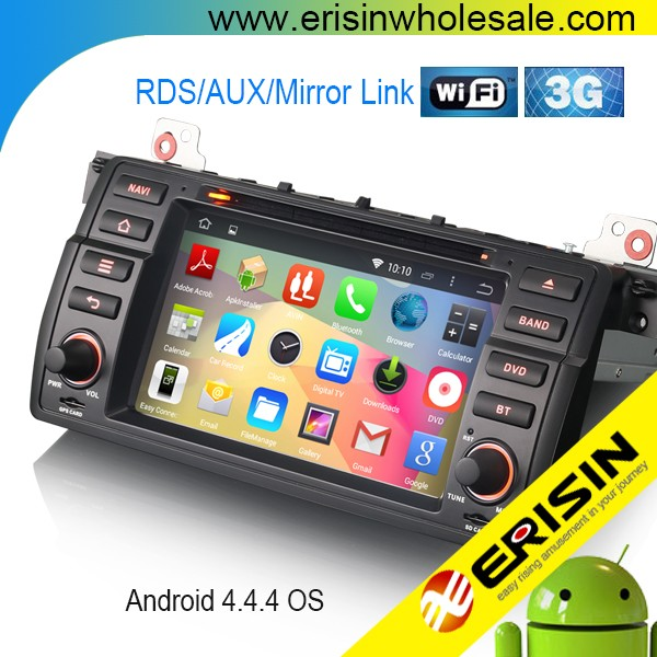 "Erisin ES2046B 7"" HD Touch Screen Android 4.4.4 E46 3er Car Radio DVD"