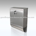 GH-3312 wall mounted stainless steel mailbox