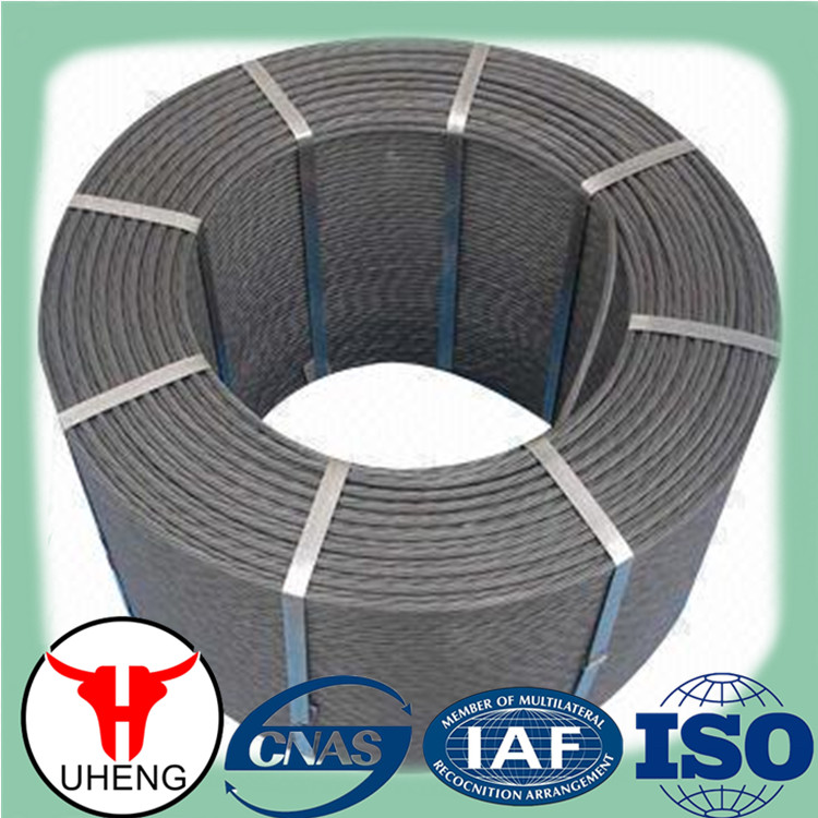 Hot sale!!! Construction material ASTM A416 grade 270 pc steel strand