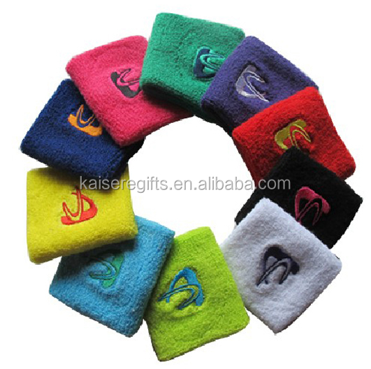 New style sport absorbent cotton wristband