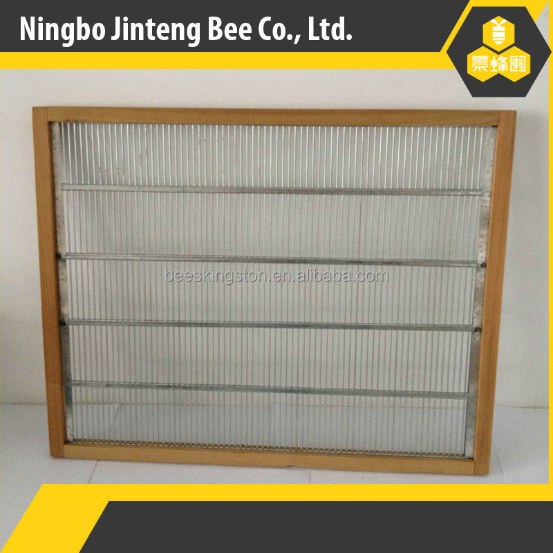 beekeeping equipment metal queen excluder with frame