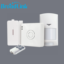 2017 New version BroadLink S2 wifi 433HMz wireless intelligent monitor kit smart home security alarm system