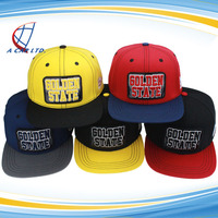 Trade Assurance Custom REMOVABLE 3D EMBROIDERY LOGO SNAPBACK CAPS AND HATS