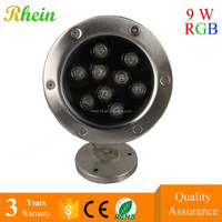 China Cheapest Price Outdoor LED Underwater 3/6/9w IP68 RGB LED Swimming Pool Light