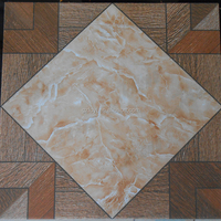 Rustic Porcelain Floor Tiles 400x400mm Maple