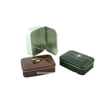 Promotional Gift Metal Tin Box For Cookie Cake Storage