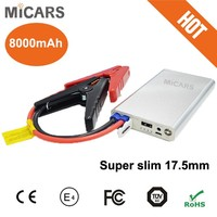12V Mini Battery Booster Mini Car Jump Starter Car Battery Charger Emergency Car Jumper Starter