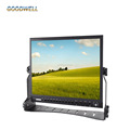"Aluminum Design 1024x768 15"" LCD HD-SDI Broadcast Monitor with Peaking Focus, Camera Mode"
